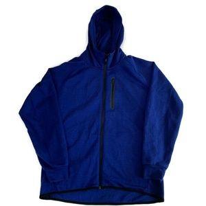 Uniqlo XL  Men's Blue Zip Up Zip Hoodie